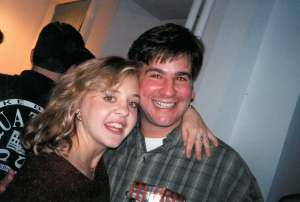 """Mama L"" and our friend, Chris Dincuff, who died on 9/11. He was 31."