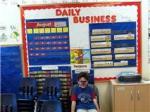 Big Bro's last day at pre-school