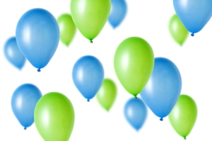 green-and-blue-balloons